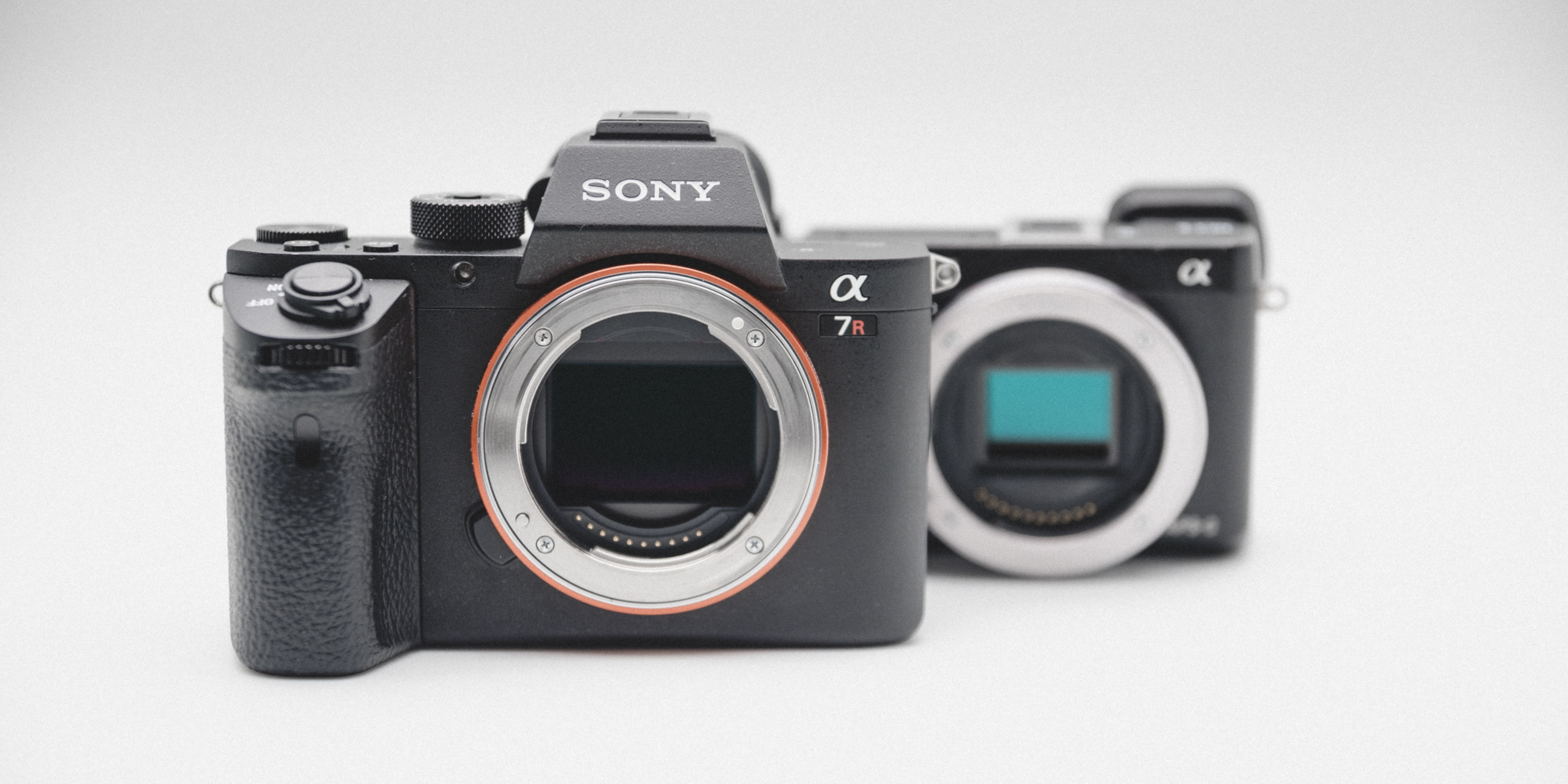 Sony A7RII compared to SONY NEX-6 full frame vs APSC