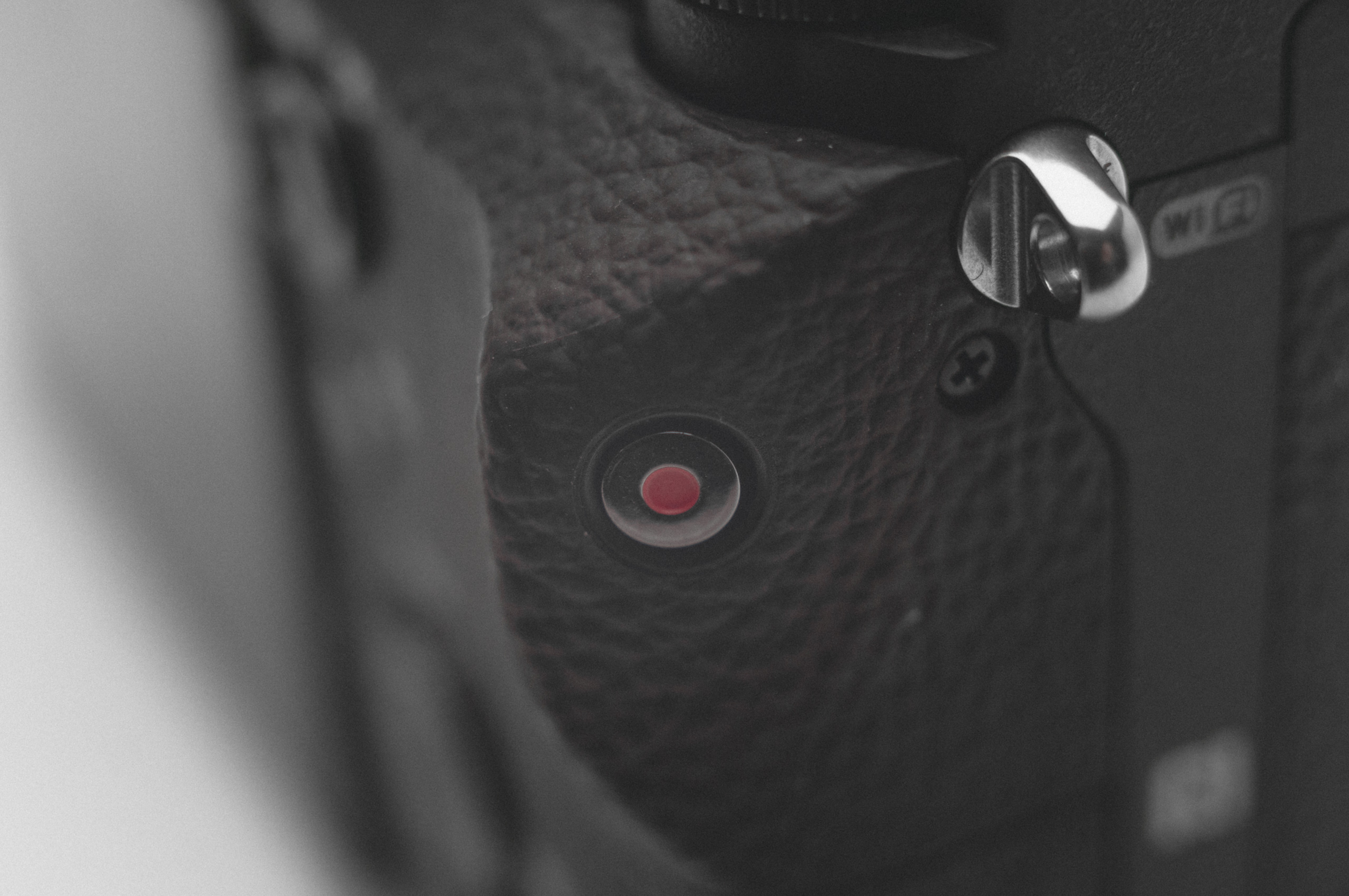 SONY A7RII record button